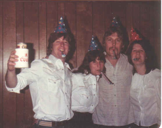 New years eve 1981 with bob and lisa newlin
