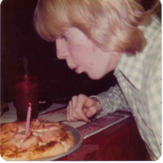 Nathan's 17th birthday feb 76