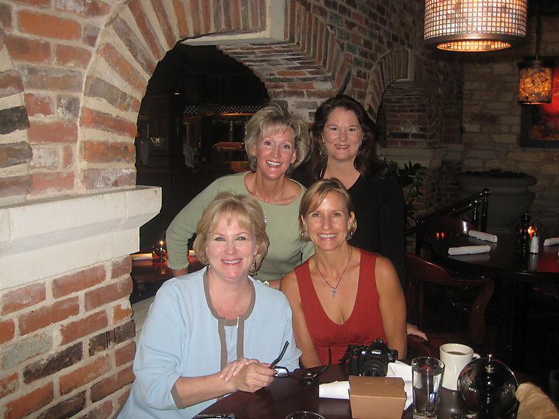Donna baty birthday lunch sept 08