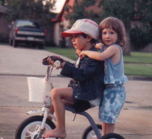 Daniel and kendall in laporte circa 1993