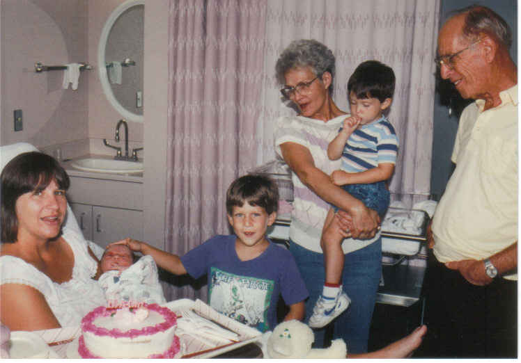 Kendall's first birthday party 1991