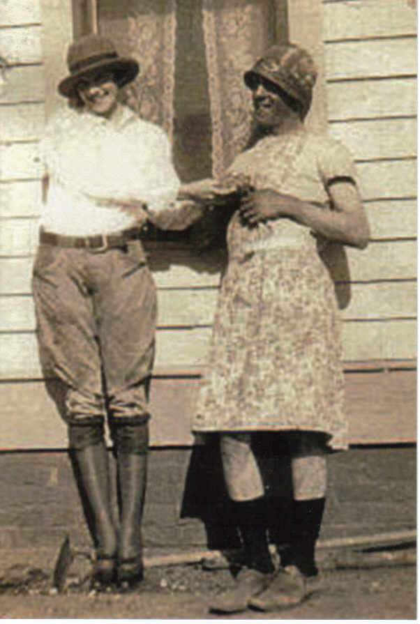 Annie b. and durward early days having fun