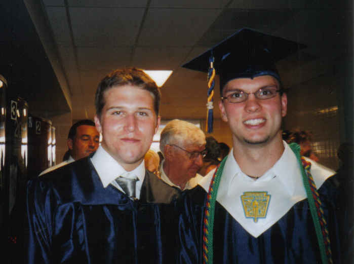 Tommy and graham hs grad 2004