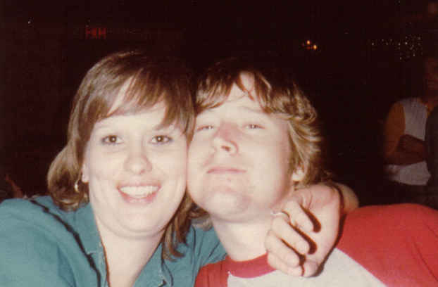 Donna cb and tom at jc's after 5 year reunion 1982