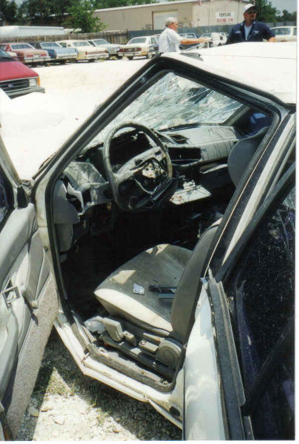 Tom's car inside 098