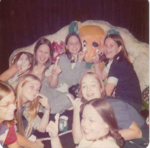Debbie's room 8th grade lea, tamara, donna, teason, debra, debbie, denise