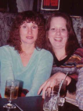Sammi, me, donna, debra, debbie bachelorette party la bare 1981 cropped
