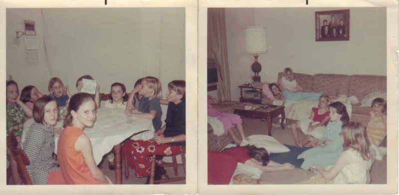 My 10th bday 1969