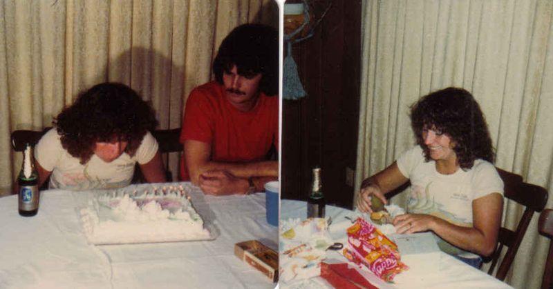 My 21st bday 1980