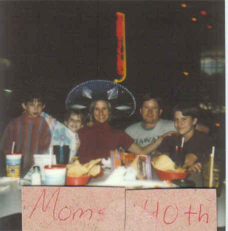 My 40th bday 1999