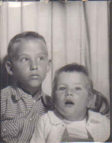Donnie and me 1962ish