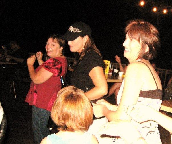 Dancing at i'noz's by shari