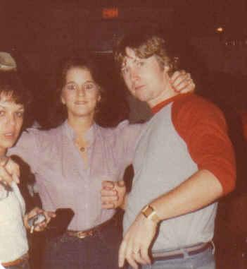 Denise, leslie, tom 5 year reunion oct 1982