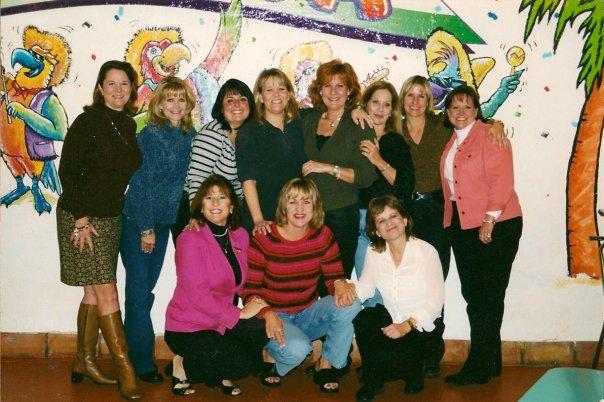 Deepwater-ish girls circa 1999 leslie, tamara, gina c., debra, debbie donna, me teason, gina t., rae, cindy