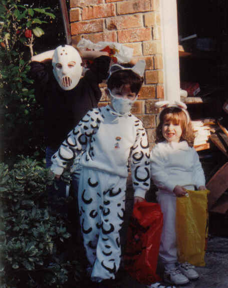Tommy, daniel, kendall halloween about 1994