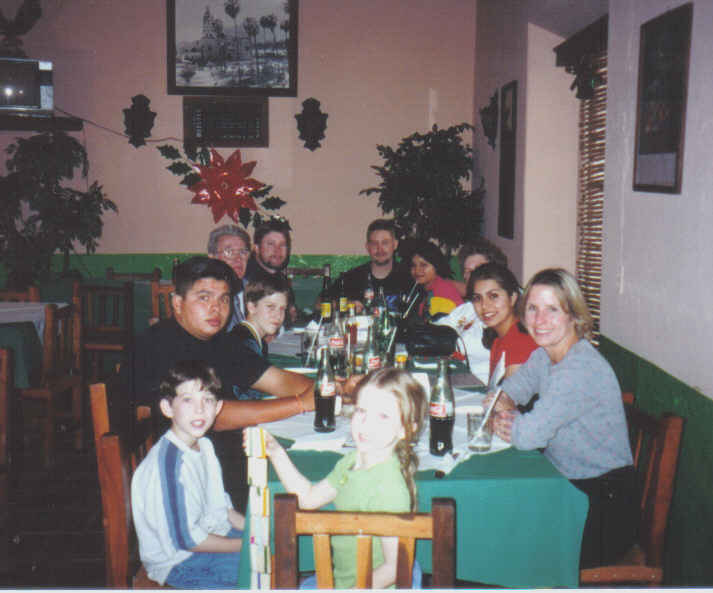 Christmas Eve dinner Los Alamos