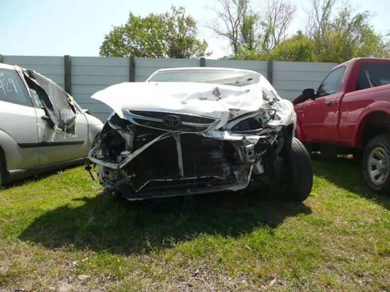 K's wrecked car march 10