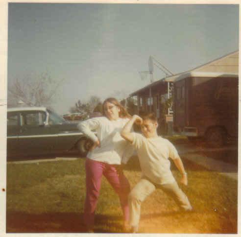 Paula and yogi