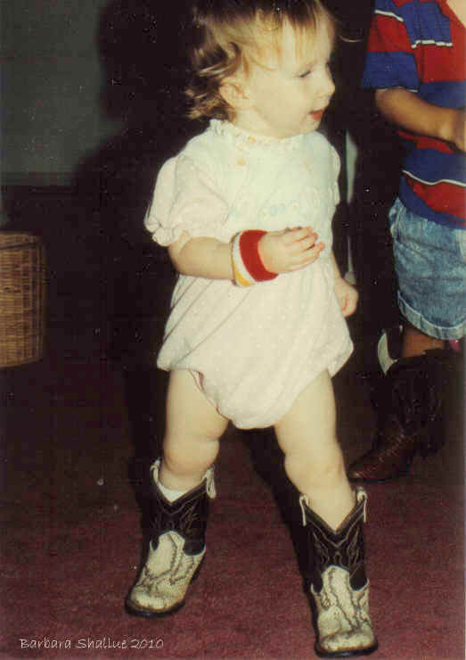 Sept 92 cowgirl!