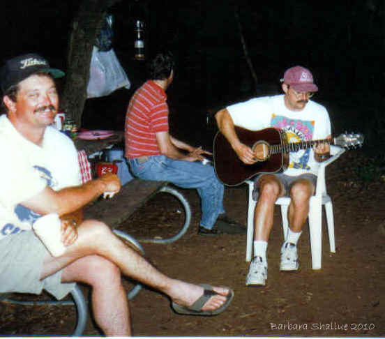 Inks lake campout 97