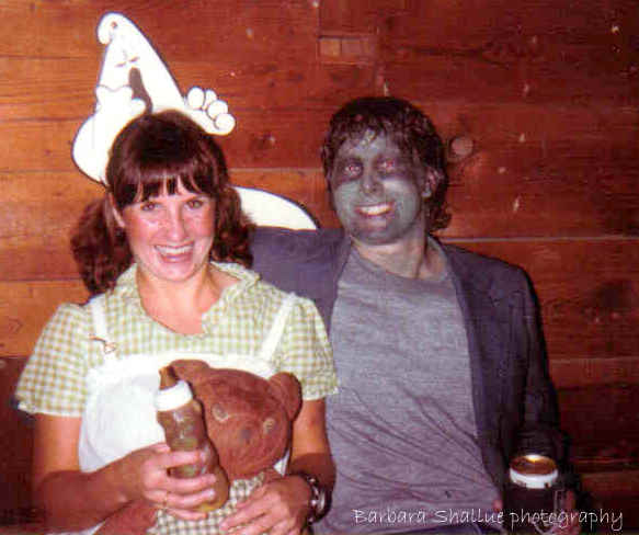 B and t paula's party 1981