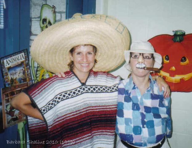 Halloween carnival '99 with Kim