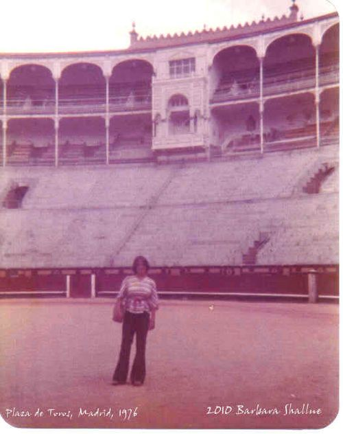 Me in Plaza del Toros, Madrid 0776