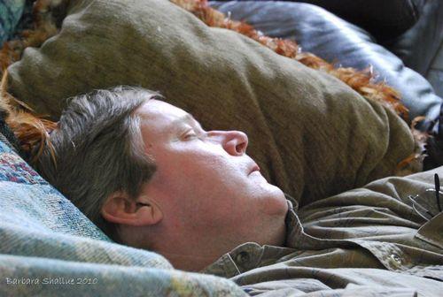 Tom sleeping (Medium)