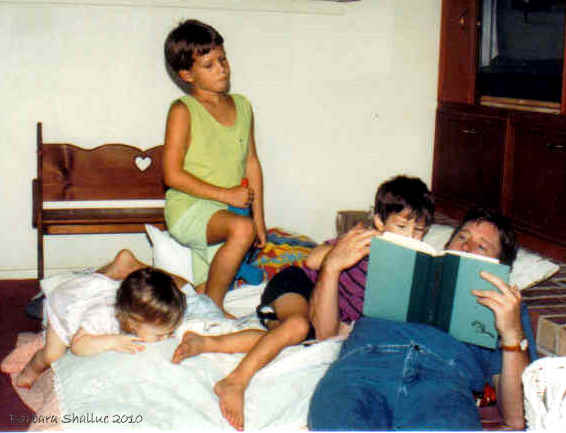 Tom and kids 92