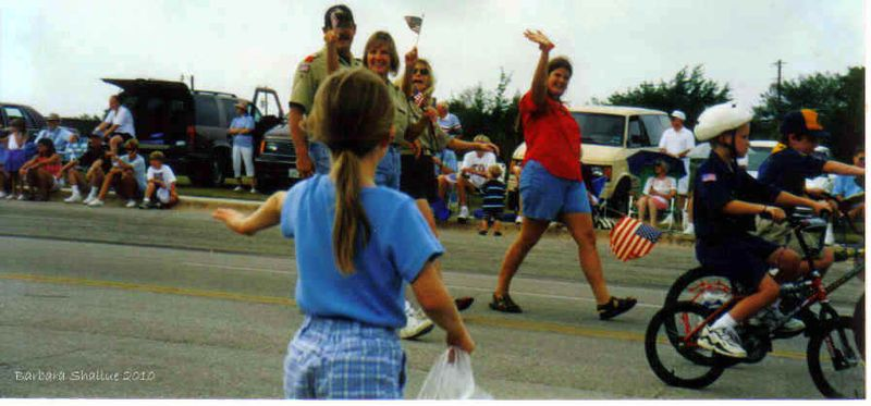 Kendall, me, cub scouts 1998