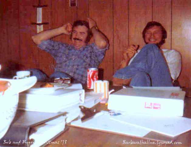Bob mcurdy and roger robinson dec. 78