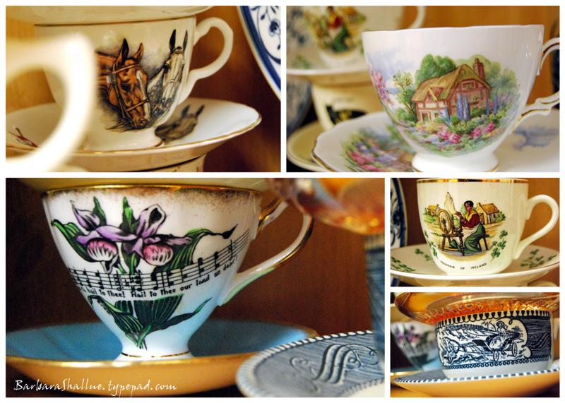 Teacup collage (Medium)