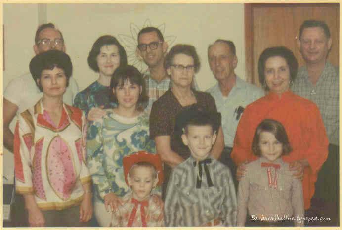 Family circa 1967sign