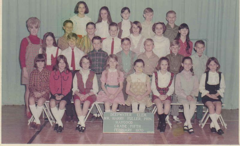 Ms. Haygood 5th grade 1970