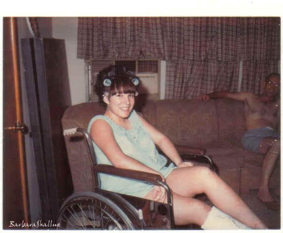Brenda wheelchair s