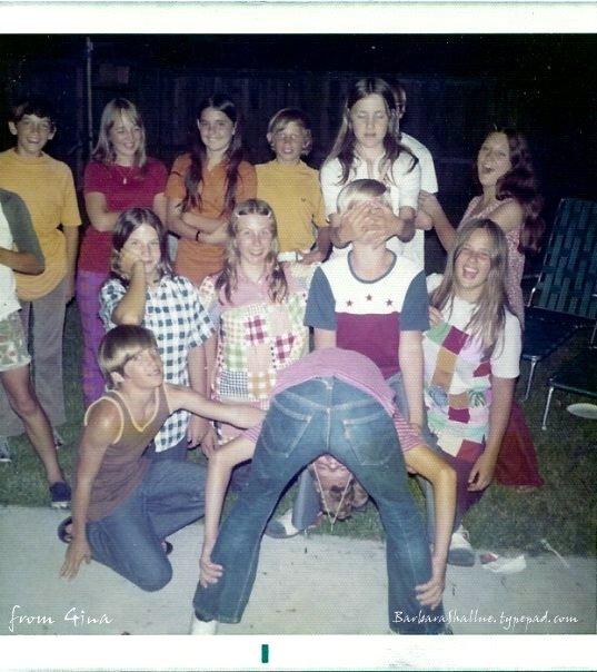 Kenneth, debbie, gina, mike, rae, robbie, me pattie, david, donna,  travis, keith by gina around 7th grade