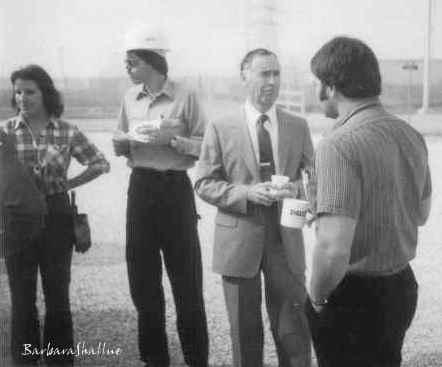 Fall 1981 me, Gene, John