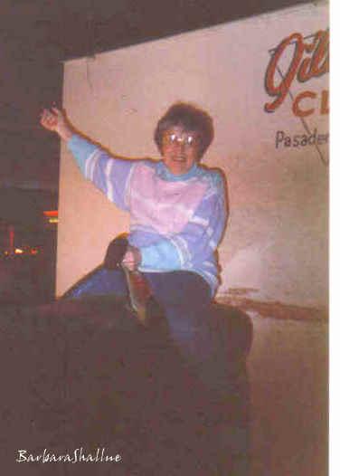 Aunt marg gilley's on bull 87s