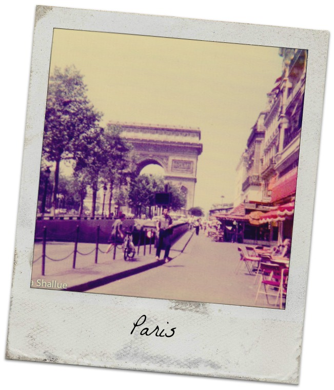 Paris, Arc de Triumph, Champs Elysees, 76