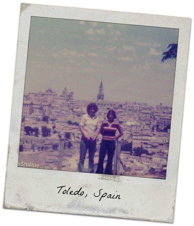 Toledo, Spain, Pattye, me
