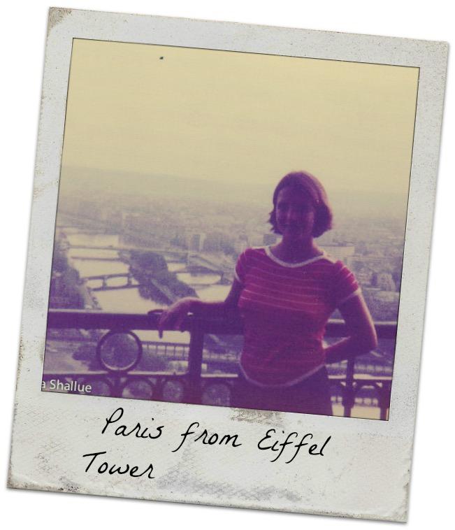 Paris, Eiffel Tower, me