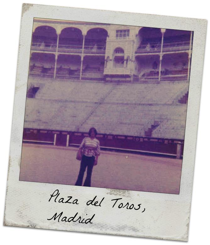 Me in Plaza del Toros, Madrid 0776