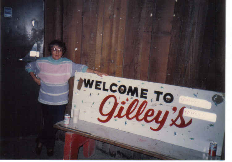Aunt marg gilley's 87
