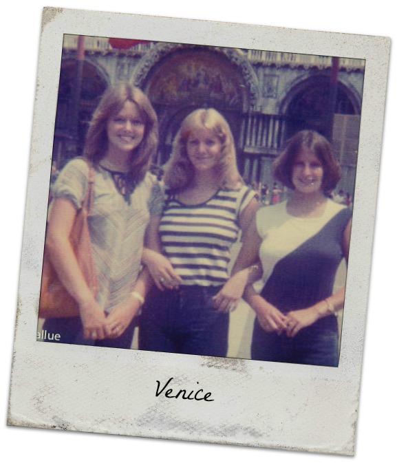 Venice, Laura, Donna, me