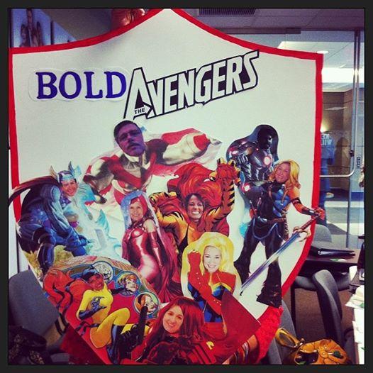 Bold Avengers