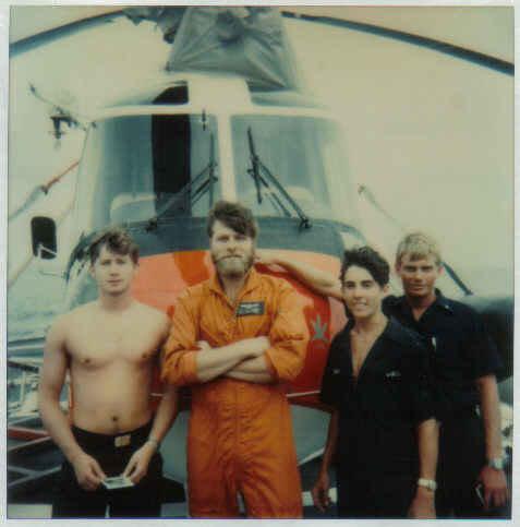 Tom and crew including David