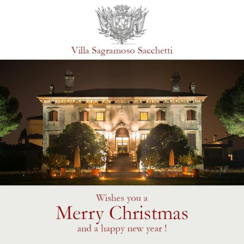 Villa at Christmas
