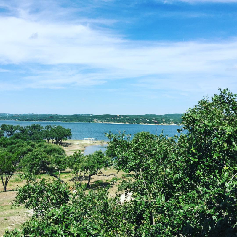 Lake Travis view