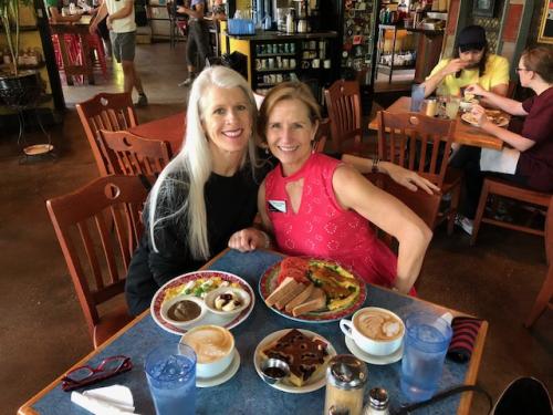 Me and Lisa N Bouldin Creek Cafe April 2018
