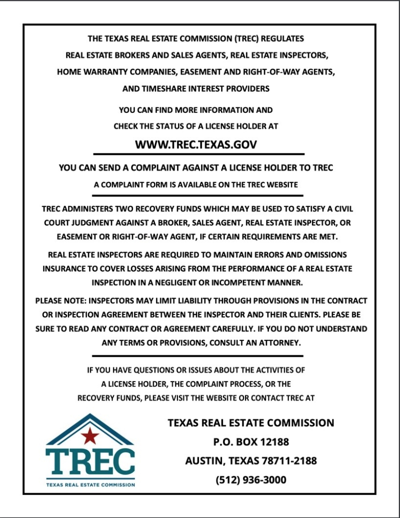 New Consumer Protection Notice